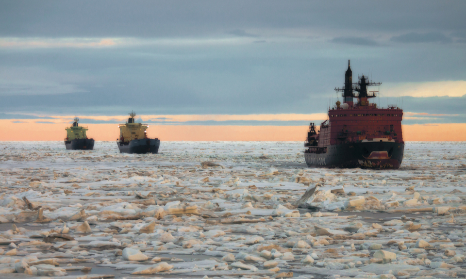 Global warming and the Russian Silk Road